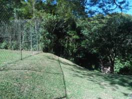 Área do terreno
